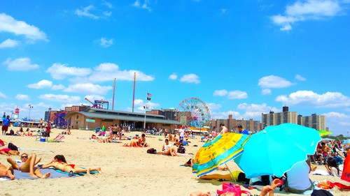 COLORFUL CONEY ISLAND NYC