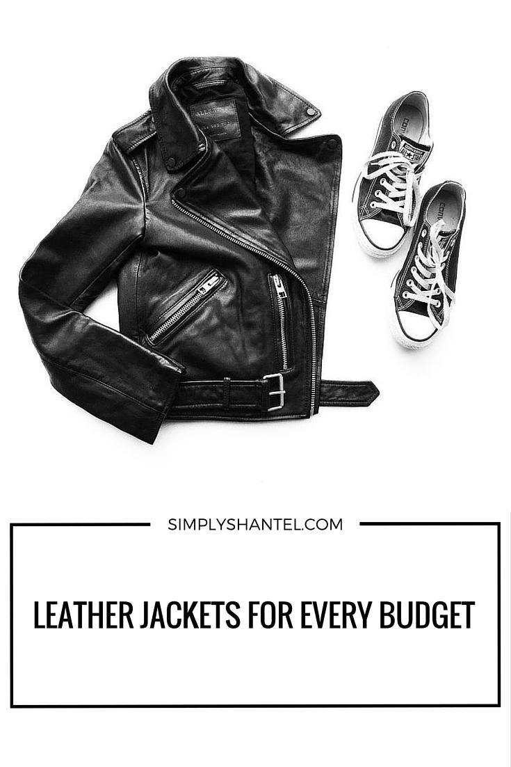 leather jackets for different budgets