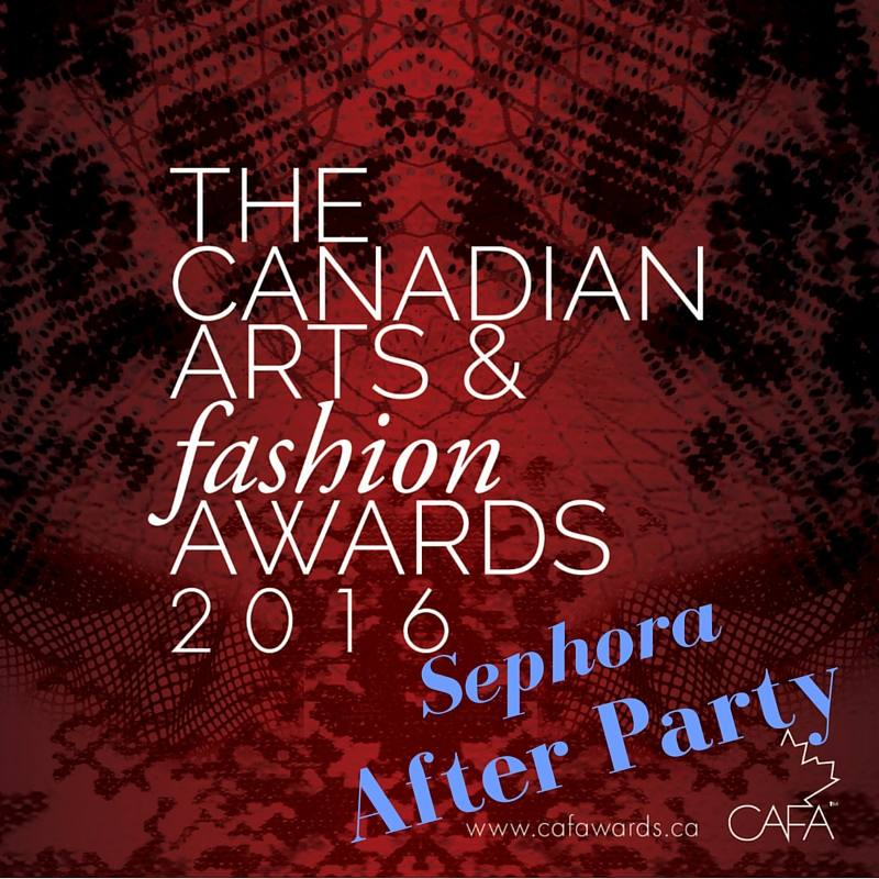 cafa 2016 sephora after party