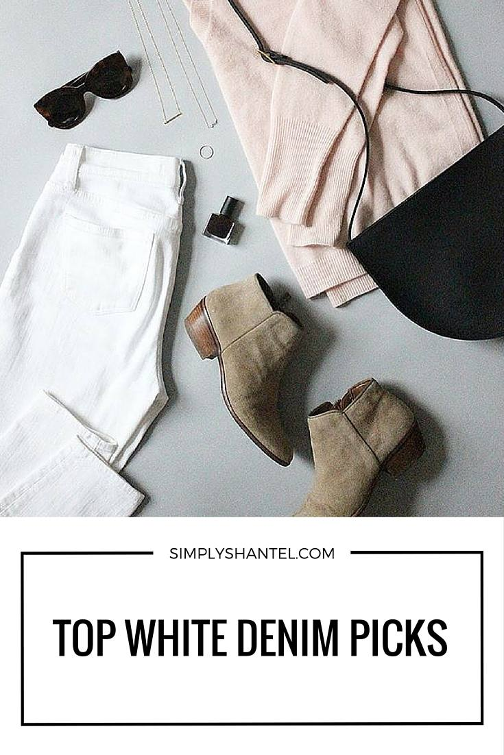White Denim Jeans