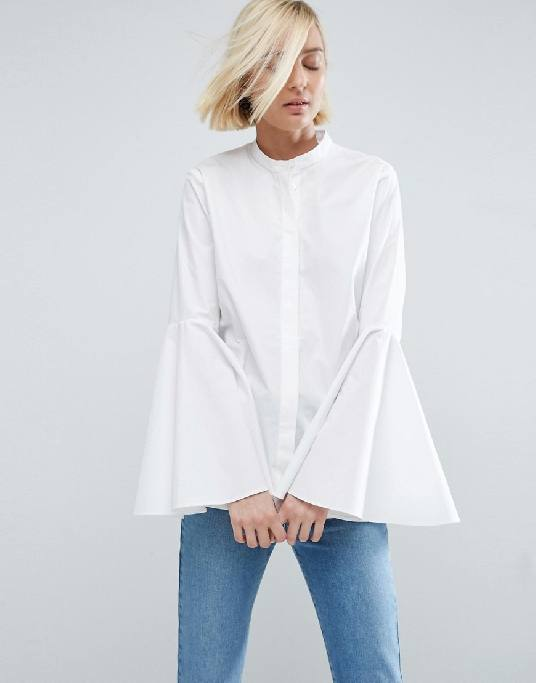 Bell Sleeves Shirt