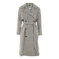 gingham trench coat topshop