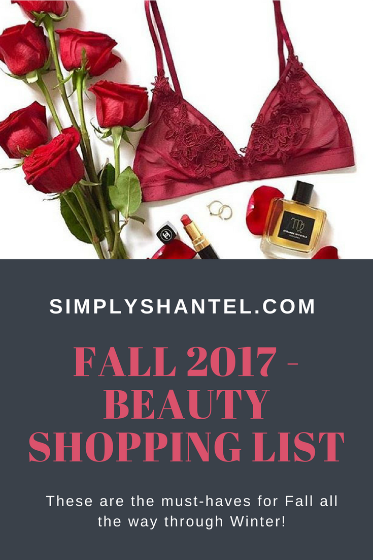 fall beauty shopping ideas