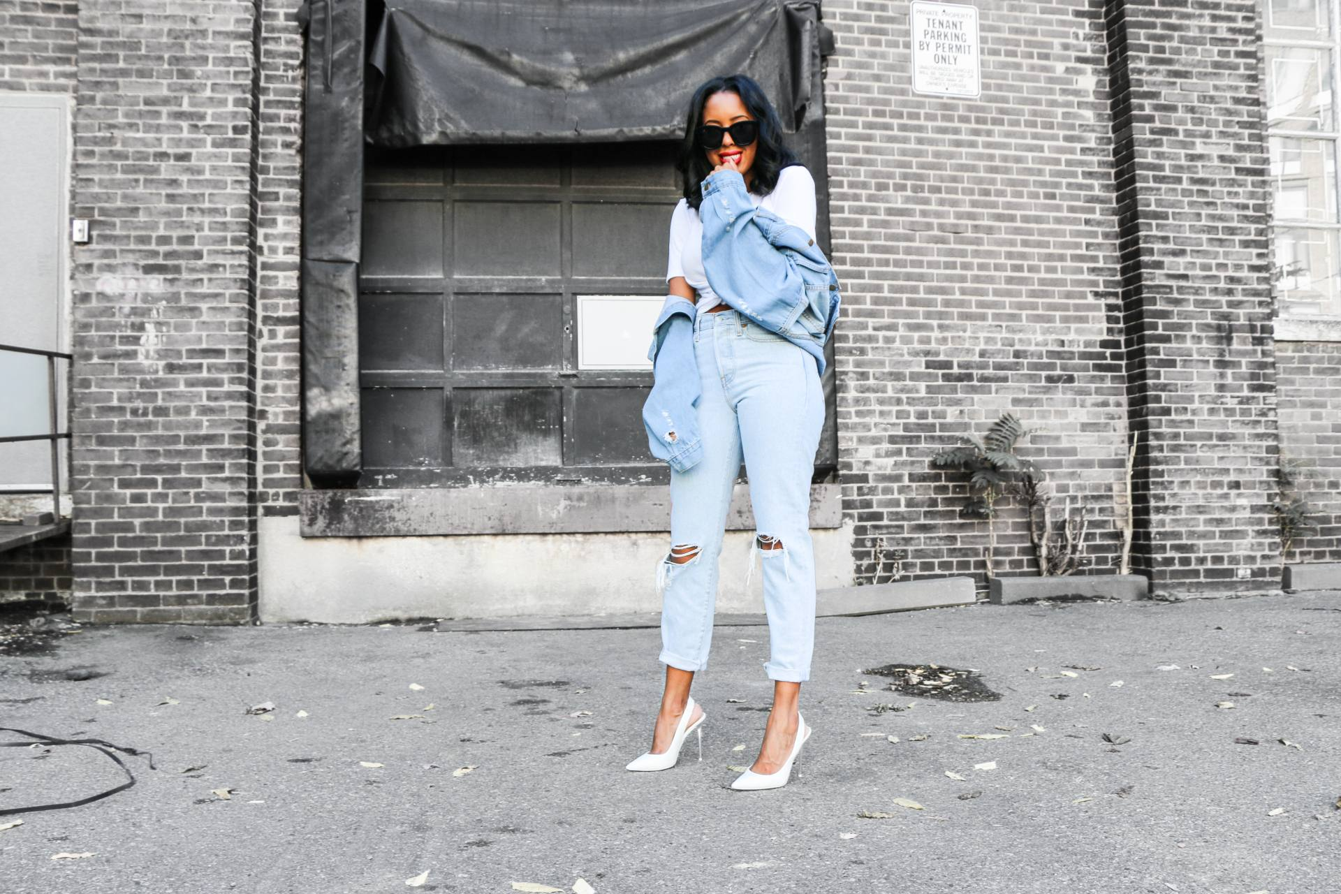denim and denim outfit 2017