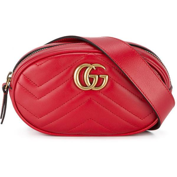 gucci belt bag red
