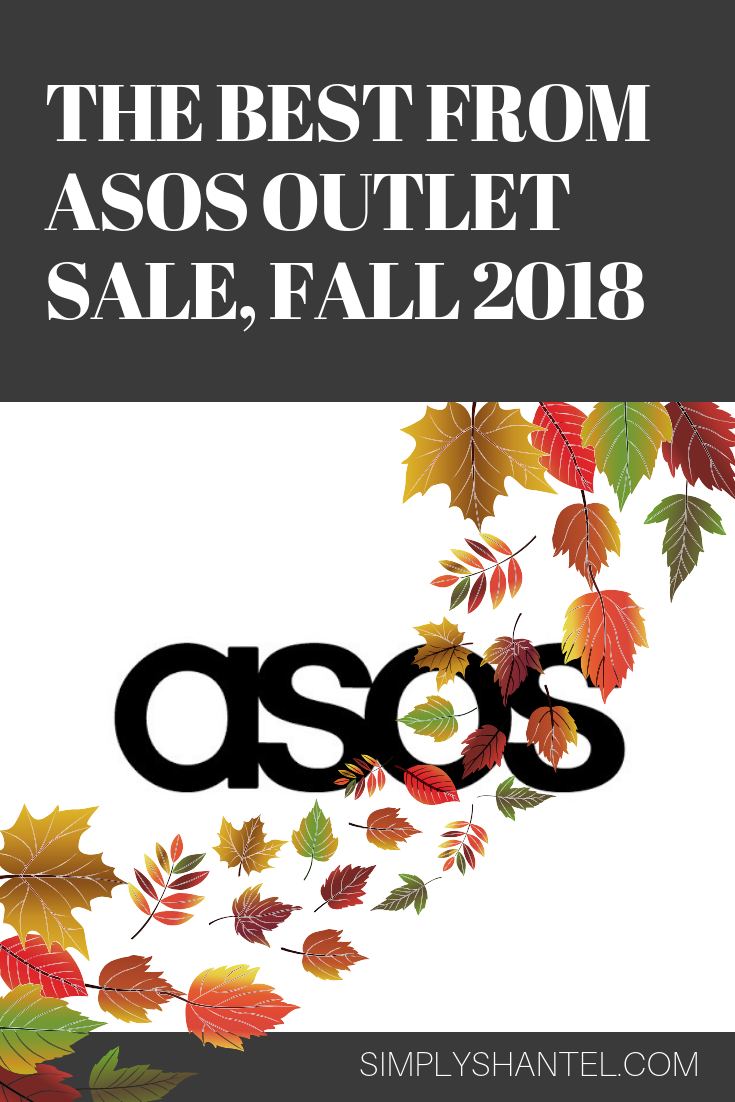 asos outlet sale fall 2018