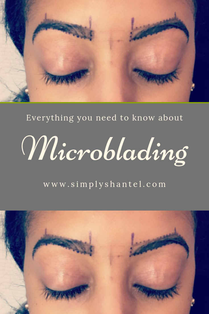 black skin microbladed brows