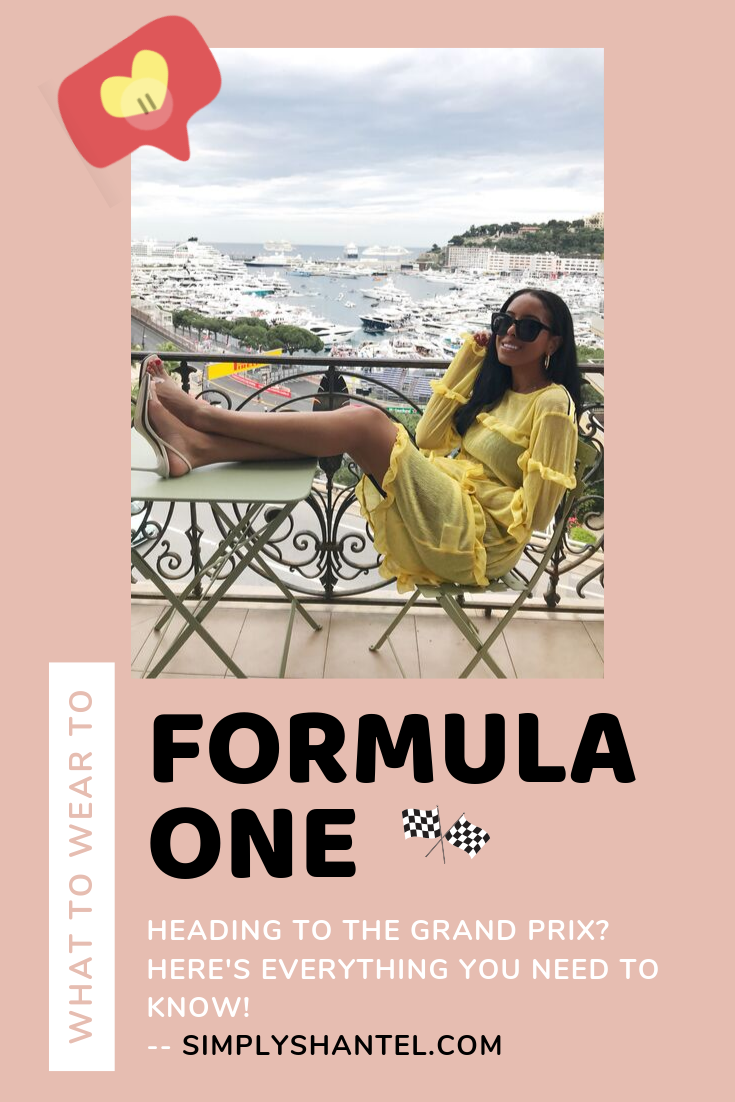 what to wear to formula one