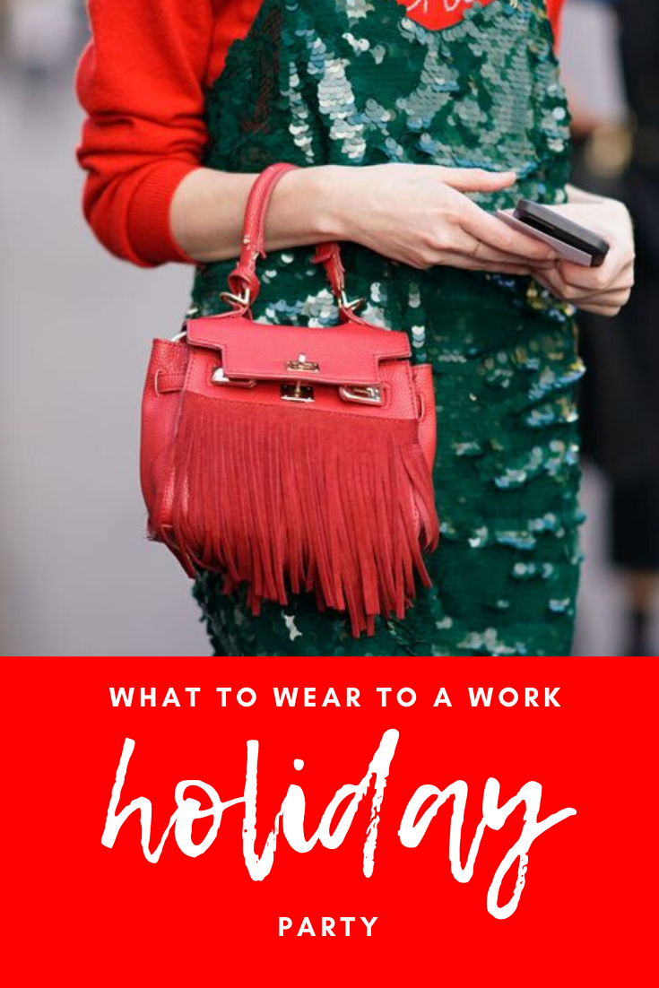 what to wear to your work holiday party