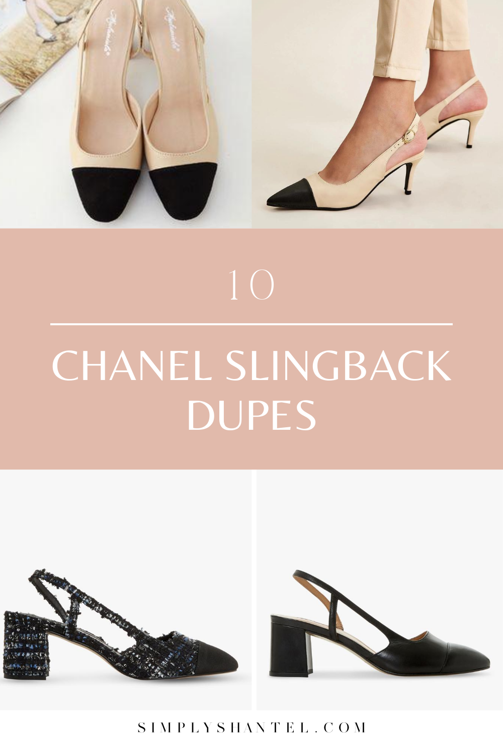 10 chanel slingback dupes